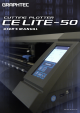 GRAPHTEC CELITE-50 User Manual