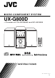 JVC SP-UXG300 Instructions Manual
