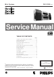 Philips FWR3337 Service Manual