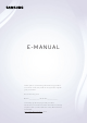 Samsung Smart Remote E-manual