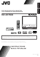 JVC KD-AV7005 Instructions Manual
