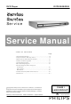 Philips DVP520/00 Service Manual