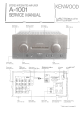 Kenwood A-1001 Service Manual