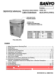 Sanyo MLS-3751L Service Manual