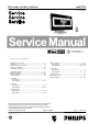 Philips Streamium WAS700 Service Manual