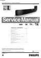 Philips HTS7111/12 Service Manual