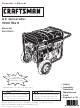 Craftsman 580.323610 Operator's Manual