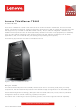 Lenovo ThinkServer TS440 Product Manual