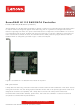 Lenovo ServeRAID H1110 Product Manual