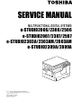 Toshiba e-STUDIO2006 Service Manual