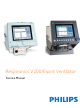 Philips Respironics V200 Service Manual