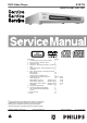 Philips DVD733 Service Manual