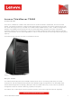 Lenovo ThinkServer TS450 Product Manual
