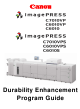 Canon imagePRESS C7010VP Program Manual