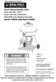 Sears, Roebuck and Co. BBQ-Pro 16310 Use And Care Manual