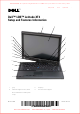 Dell Latitude XT2 Setup And Features Information