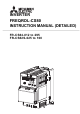 Mitsubishi Electric FR-CS84-160 Instruction Manual