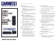 Panasonic NS1000 Quick Reference Manual