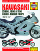 Kawasaki ZX1000 A Ninja 1000R 1987 Service And Repair Manual
