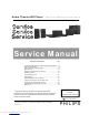 Philips HTB3510/98 Service Manual