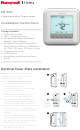 Honeywell T6 Pro Installation Instructions Manual