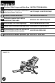 Makita DLS713 Instruction Manual