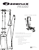 Bowflex PR1000 Assembly And Owner's Manual