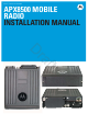 Motorola APX8500 Installation Manual