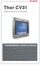 Honeywell Thor CV31 Installation Instructions Manual