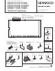 Kenwood DDX7019 Service Manual