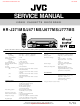 JVC HR-J271MS Service Manual