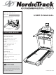 Model 831298844 NORDICTRACK TREADMILL - Manuals and Guides