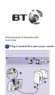 BT Essentials Wi-Fi Powerline 500 User Manual