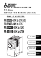 Mitsubishi Electric FR-S520E Series Instruction Manual