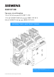 Siemens 3AH37 Operating Instructions Manual