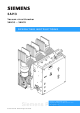 Siemens 3AH3 Operating Instructions Manual
