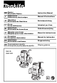 Makita 3612 Instruction Manual