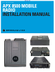 Motorola APX 8500 Installation Manual