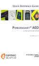 Cardiac Science POWERHEART G3 PLUS 9390E AED Quick Reference Manual
