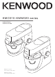 Kenwood KMC010 Series Instructions Manual