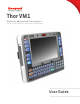 Honeywell Thor VM1 User Manual