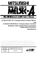 Mitsubishi Electric MELSEC-A Series User Manual