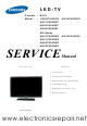 samsung UN32C4000PD Service Manual