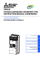 Mitsubishi Electric F800-E Series Instruction Manual