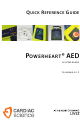 Cardiac Science POWERHEART G3 PRO 9300P Quick Reference Manual