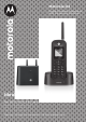 Motorola ASTRO APX MOBILE O2 CONTROL HEAD Manual