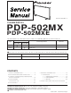 Pioneer PDP-502MX Service Manual