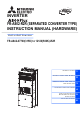 Mitsubishi Electric A800 Plus Instruction Manual