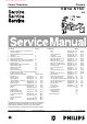 Philips EM5A NTSC Service Manual