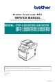 Brother DCP-L8400CDN Service Manual